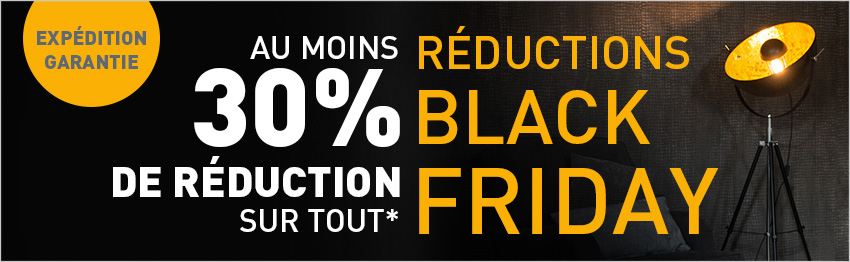 Réductions Black Friday