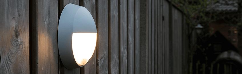 Lampes extérieures avec détecteur