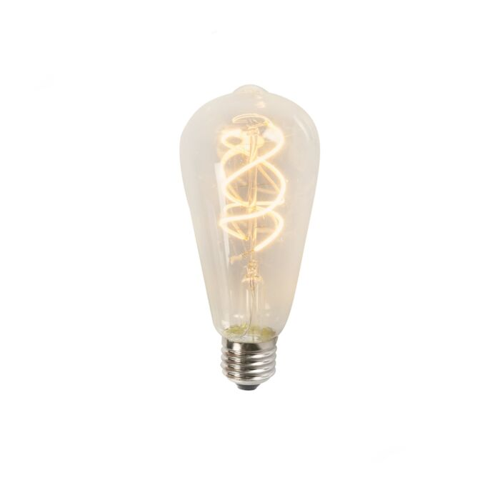 Ampoule-LED-filament-Spiral-ST64-5W-2200K-brillant