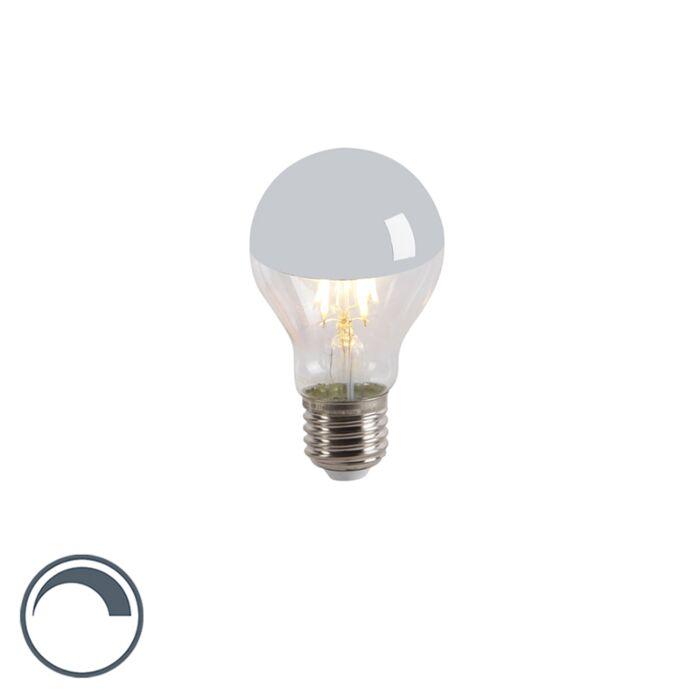Lampe-à-filament-LED-E27-dimmable-A60-miroir-avant-4W-300lm-2300-K