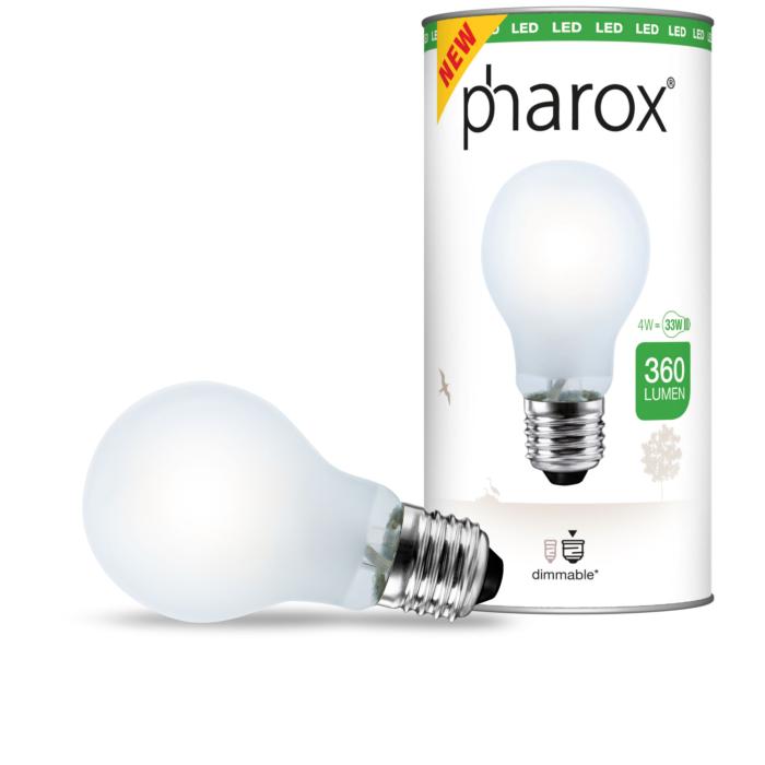 Ampoule-LED-à-filament-Pharox-A60-Opal-360-lumen