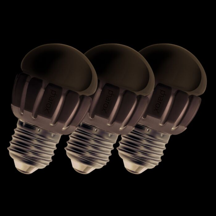 Un-set-de-3-Pharox-LED-200-P45-E27-5W-230V