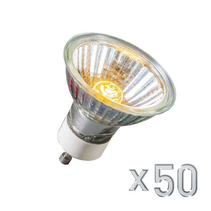 Ampoule-Halogène-GU10-40W-350LM-230V-Pack-de-50