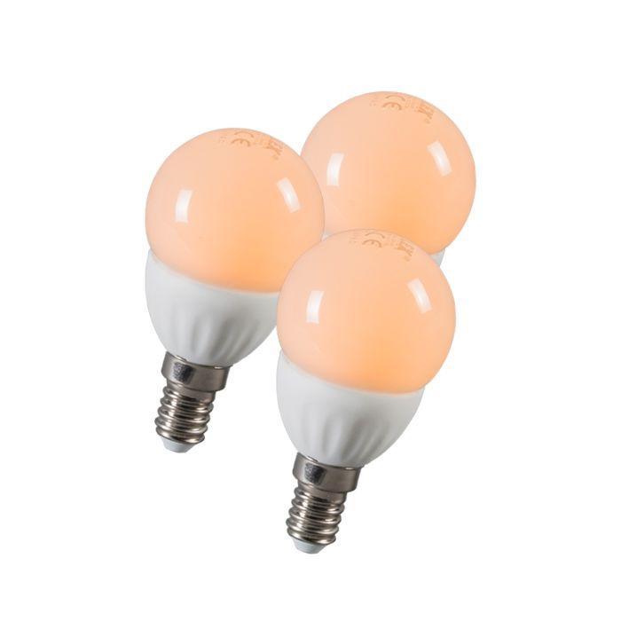 Ampoule-LED-balle-E14-3W-250-lumen-ca.-25W-Pack-de-3