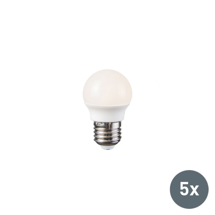 Ampoule-LED-3.5W-E27-G45-WW-Pack-de-5