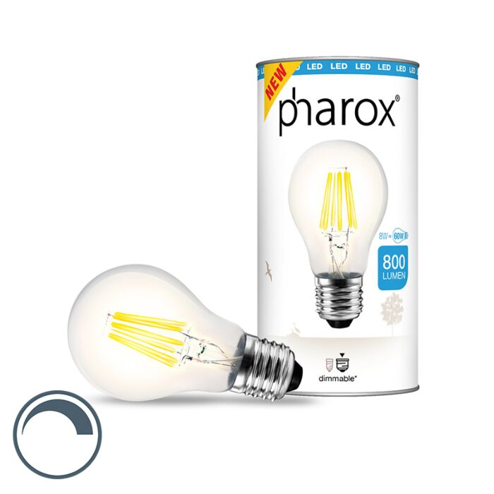 Ampoule-LED-Pharox-brillant-E27-8W-800-lumen