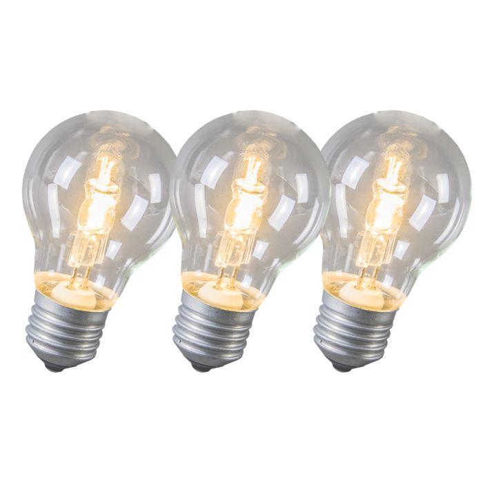 Ampoule-Halogène-E27-53W-Pack-de-3