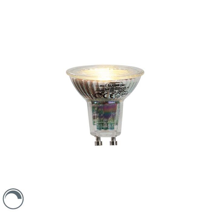 GU10-lampe-à-LED-6W-450-lumens-2700K-dimmable