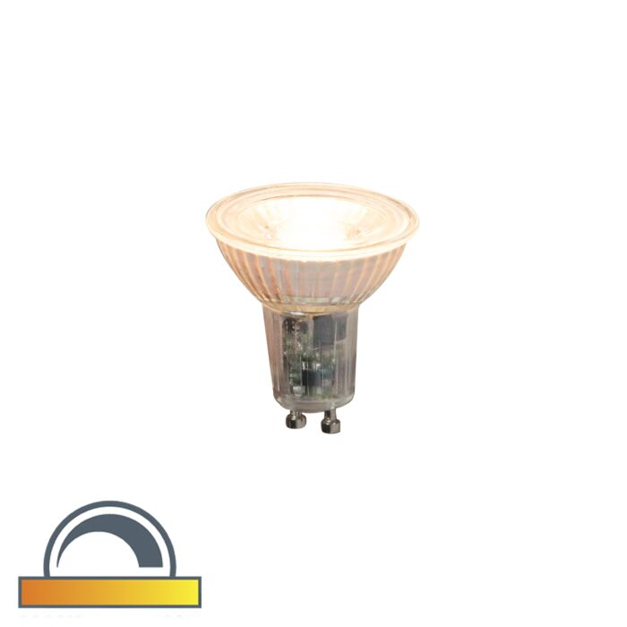 Lampe-LED-GU10-dimmable-5.5W-360lm-2000K---2700K