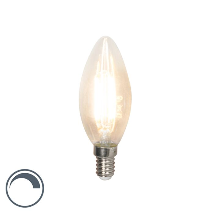 Lampe-à-bougie-à-filament-LED-dimmable-E14-B35-3.5W-350-lm-2700K
