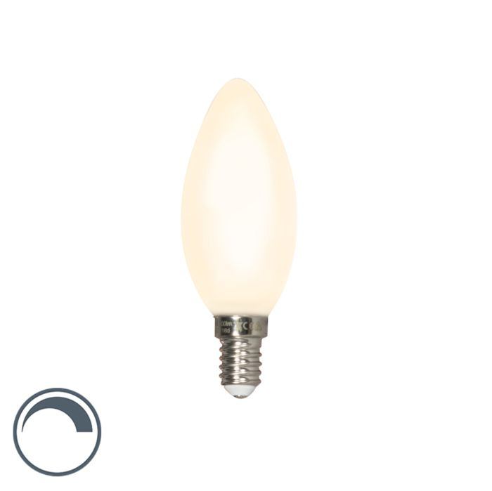 Lampe-à-bougie-LED-dimmable-E14-mat-3,5W-300-lm-2700-K