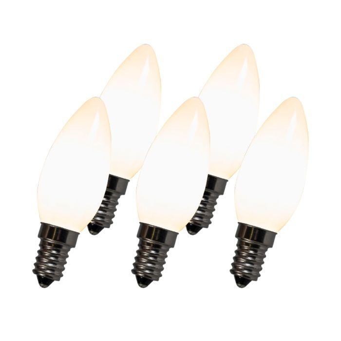 Ampoule-Filament-LED-C35-E14-2W-2700K-blanc-Pack-de-5