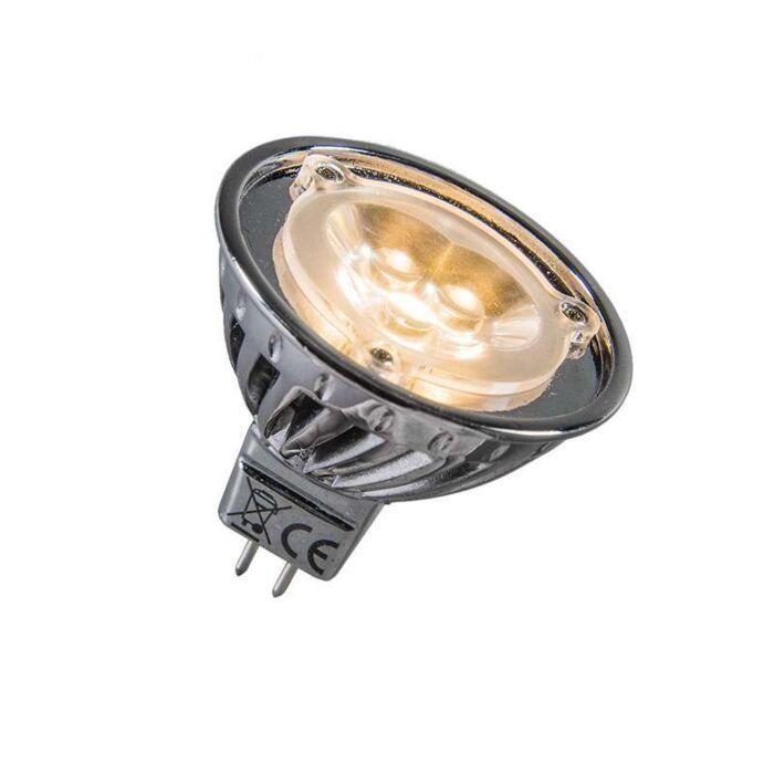 Power-LED-12V-MR16-3-x-1W-=-env.-30W-blanc-chaleureux