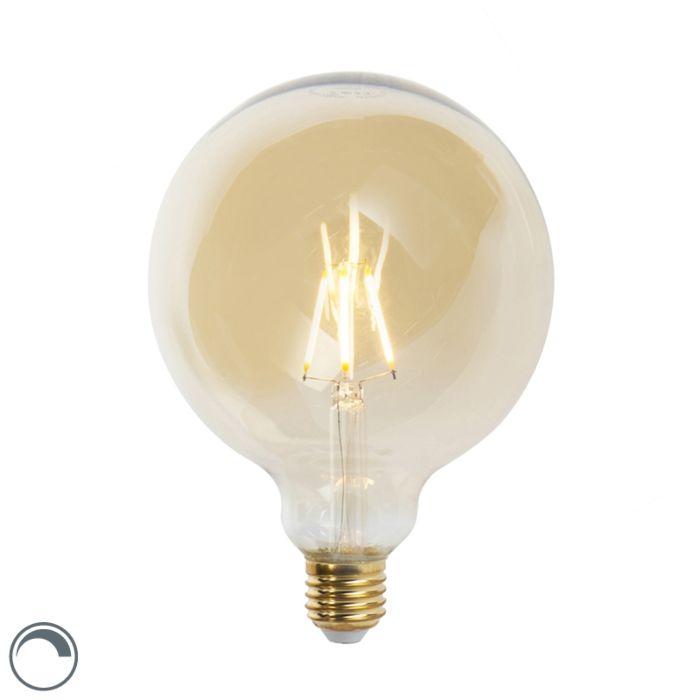 Lampe-à-filament-LED-E27-dimmable-G125-goldline-360-lumen-2200K