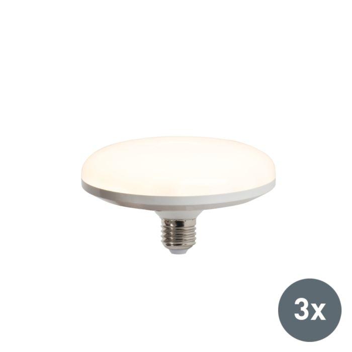 Lot-de-3-ampoules-LED-UFO-E27-18W-blanc-chaud