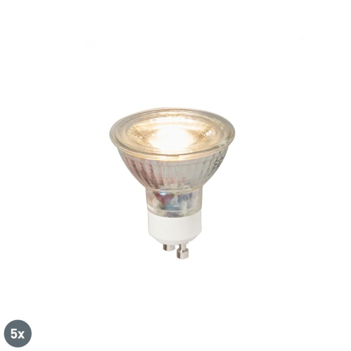 Lot-de-5-lampes-LED-GU10-COB-5W-380LM-3000K