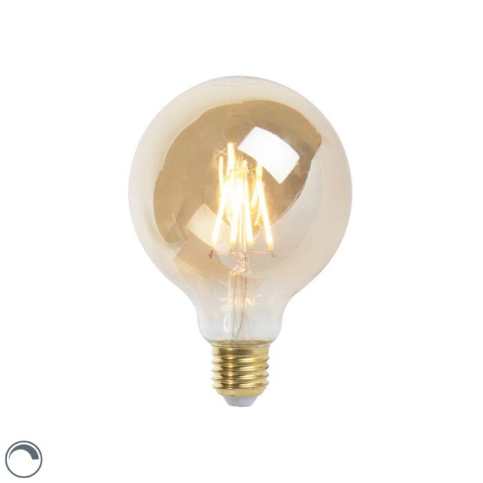 Lampe-à-incandescence-LED-E27-dimmable-G95-goldline-5W-360-lm-2200K