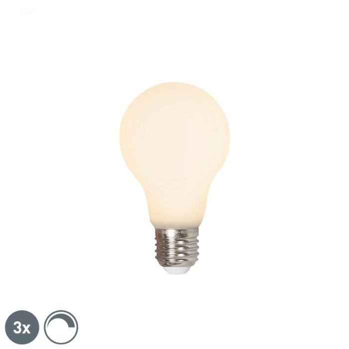 Lot-de-3-LED-E27-240V-4W-380lm-dimmable