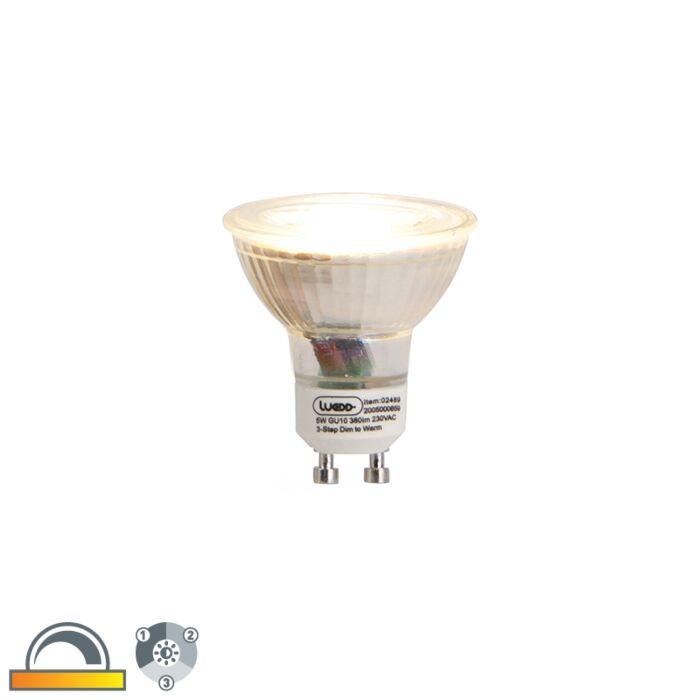 Lampe-LED-GU10-dim-à-chaud-3-niveaux-5w-380-lm-2000-2700K