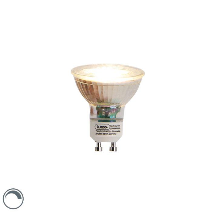 Lampe-LED-GU10-dimmable-7W-2700K