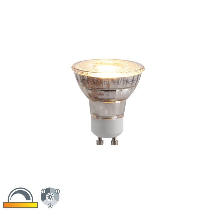 Lampe-LED-GU10-dimmable-en-3-étapes-en-Kelvin-5W