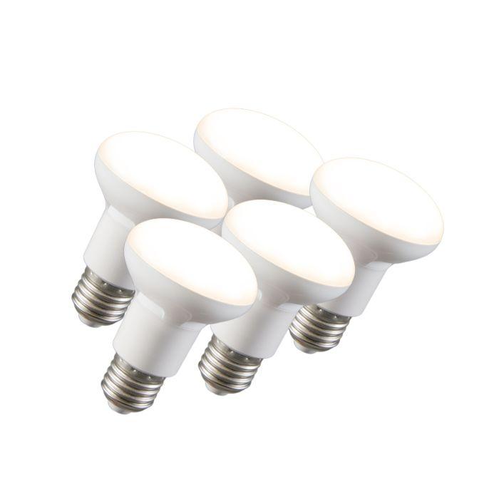 Set-de-3-ampoules-LED-à-réflecteur-R63-E27-240V-8W-2700K-dimmables