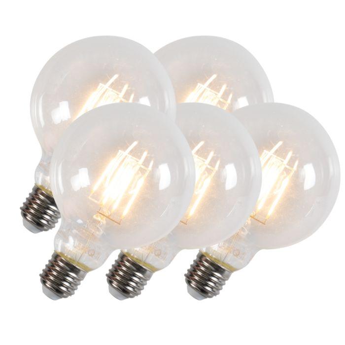 Set-de-5-ampoules-à-filament-G95-E27-6W-600-lumen