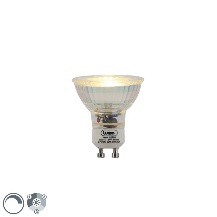Lampe-LED-GU10-dimmable-3-niveaux-dimmable-5W-345lm-2700-K.