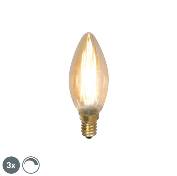 Lot-de-3-bougies-à-filament-LED-dimmable-E14-200lm-2100-K
