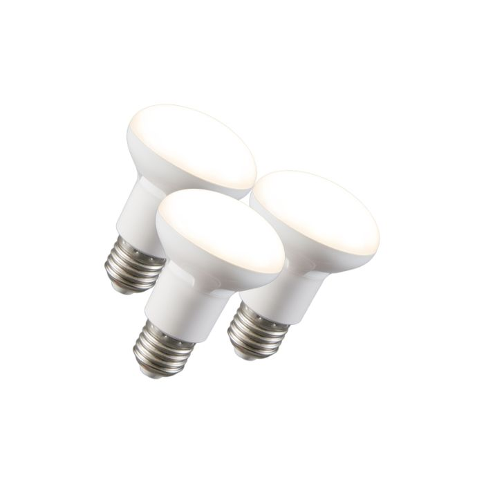 Set-de-3-ampoules-LED-à-réflecteur-R63-E27-240V-8W-2700K-dimmables