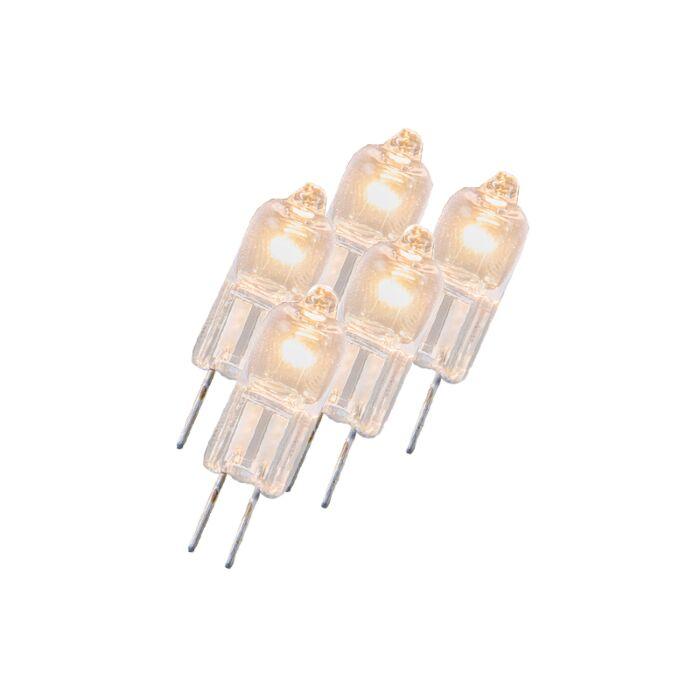 Set-de-5-lampes-halogènes-transparentes-Osram-5W-12V