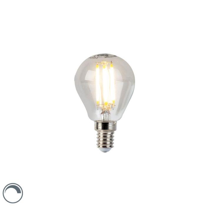 Lampe-balle-à-filament-à-LED-E14-5W-470lm-P45-dimmable