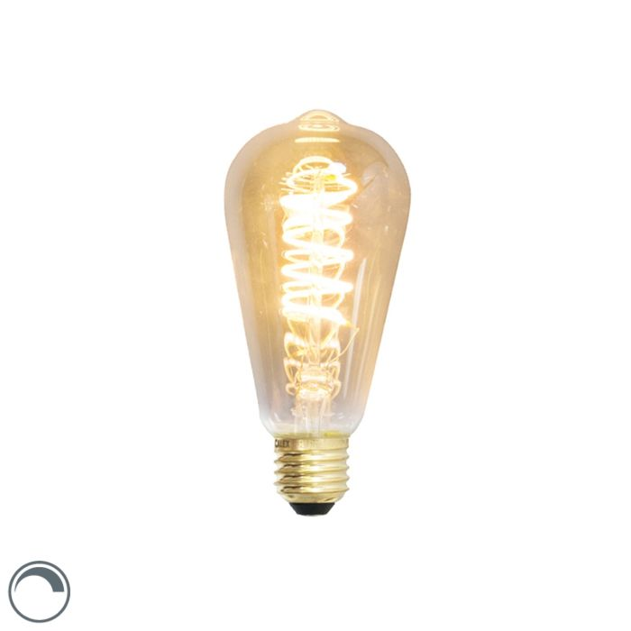 Lampe-à-incandescence-LED-E27-dimmable-ST64-4W-200-lumen-2100K