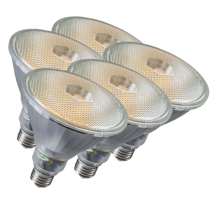Set-de-5-ampoules-Par38-E27-20W-800LM-2700K