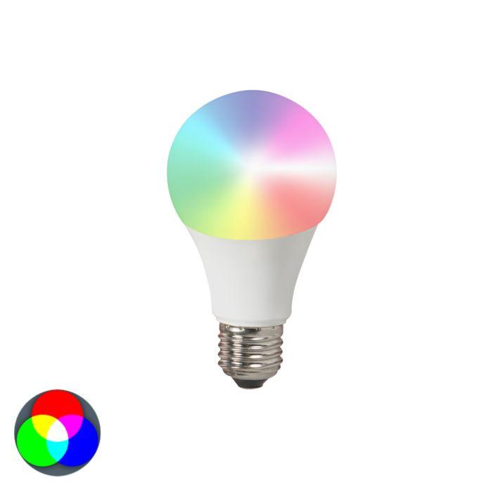 Ampoule-LED-E27-240V-7W-500lm-A60-Smart