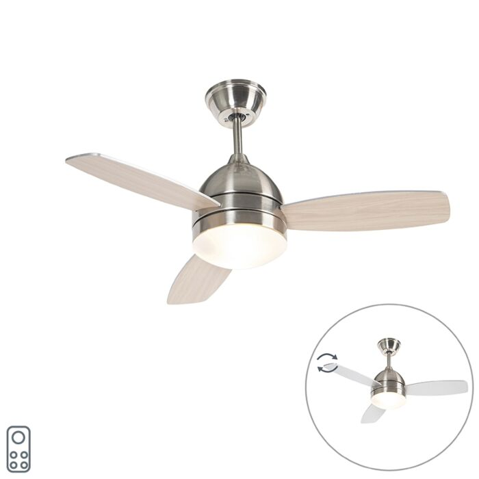 Ventilateur-de-plafond-en-acier-avec-télécommande---Rotar
