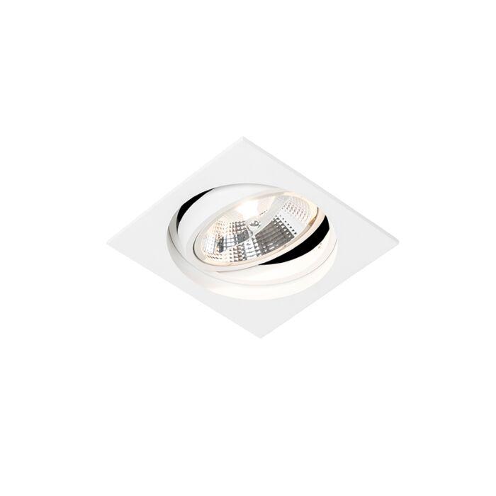 Spot-encastrable-moderne-blanc-réglable---Chuck-111