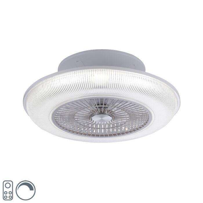 Ventilateur-de-plafond-design-gris-avec-LED-RGB-2700---5000K---Raki