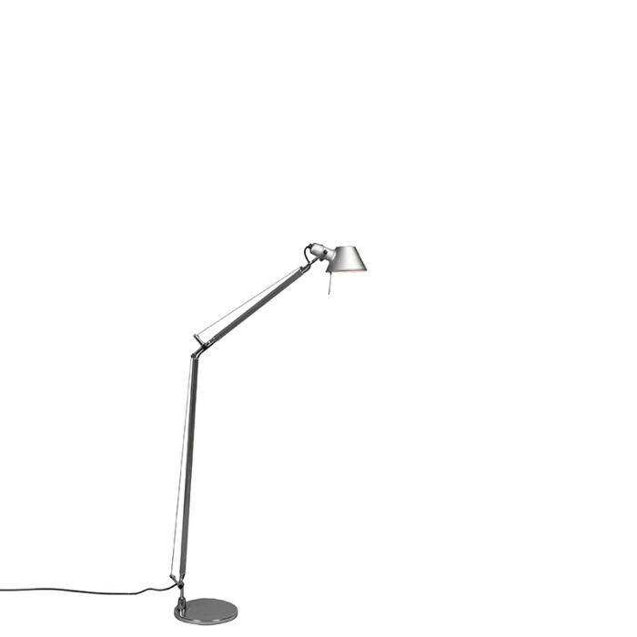 Lampadaire-Artemide-aluminium-réglable---Artemide-Tolomeo-Lettura