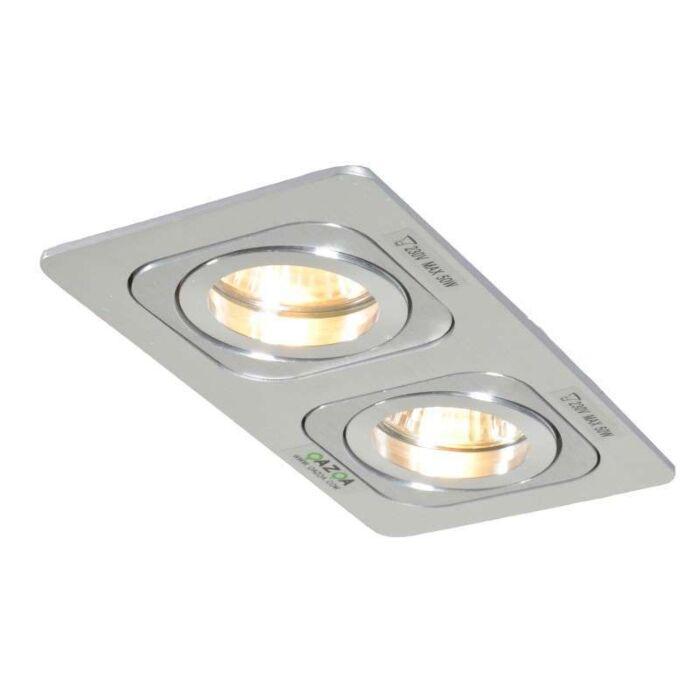 Spot-encastré-Random-2-aluminium