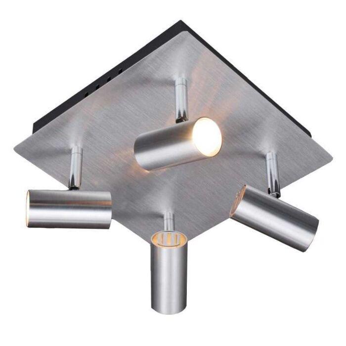 Spot-Oslo-4-spots-en-aluminium