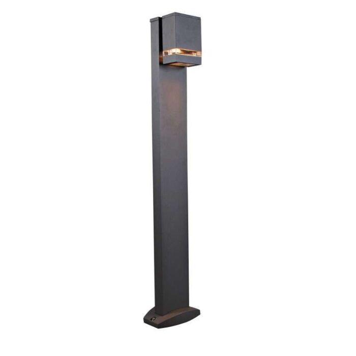 Lampe-extérieure-Montana-sur-pied-100-cm-graphite