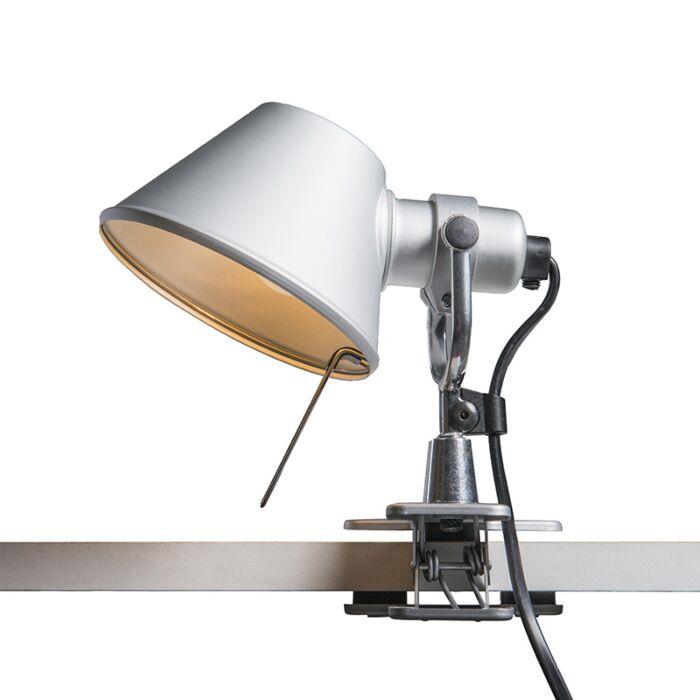 Lampe-de-table-Artemide-réglable---Artemide-Tolomeo-micro-pinza