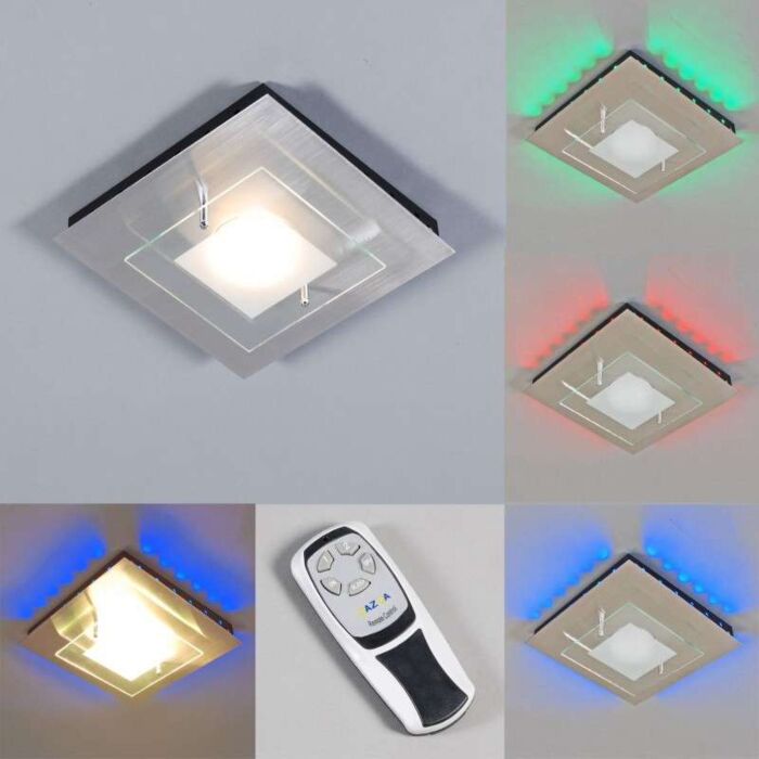 Plafonnier-Plat-LED-RGB-en-acier