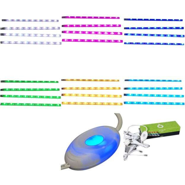 Set-4-bandes-LED-RGB