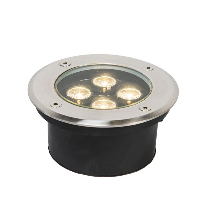 Spot-encastré-sol-Basic-R-Power-4-LED