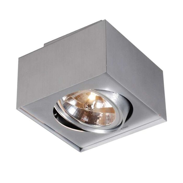 Spot-Box-AR111-aluminium