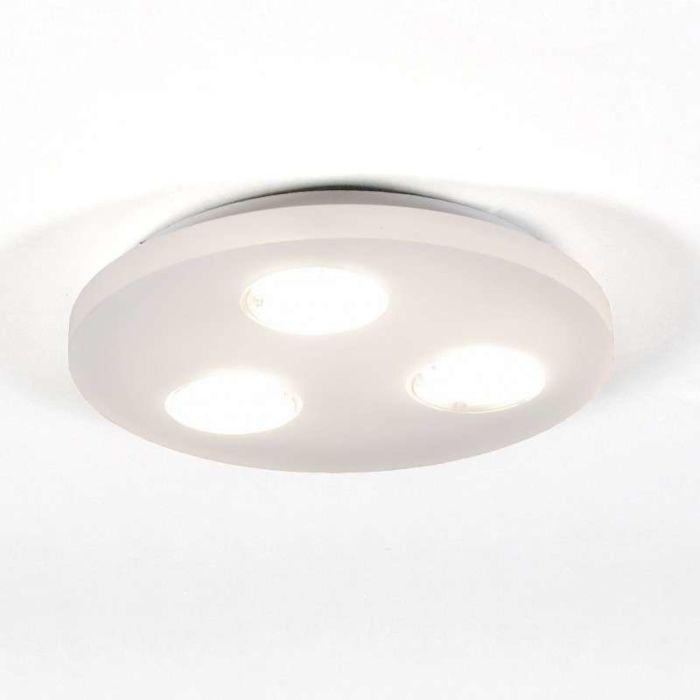 Plafonnier-Donna-3-lumières-rond