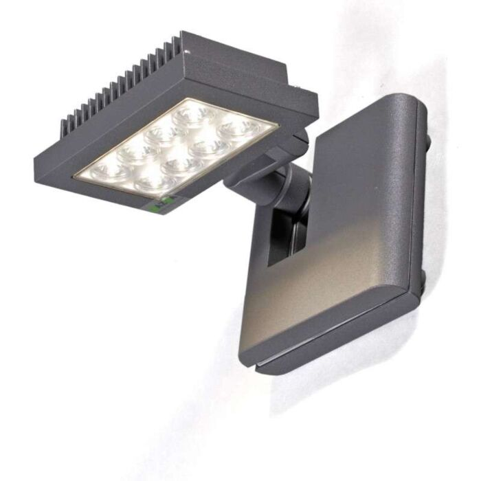 Projecteur-à-LED-Opton-anthracite