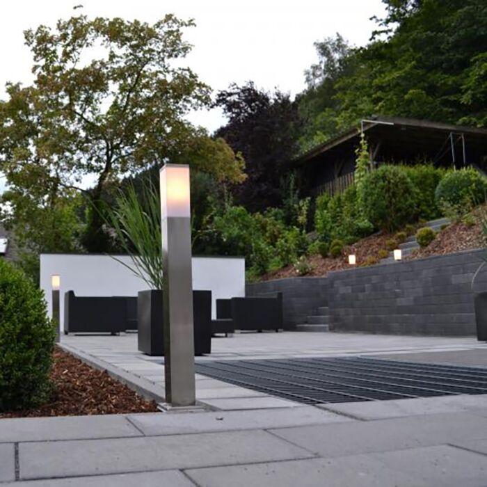 Lampe-d'extérieur-moderne-80-cm-acier---Malios